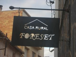 casa rural Foreset, Alfara de Carles
