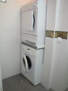 le lave linge et le sèche linge