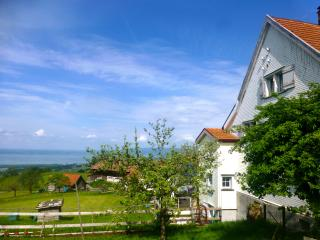 The Lake of Constance, Switzerland's biggest lake is at the doorstep. Enjoy the view!