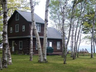Cottage sits on peninsula - water on both sides of property!