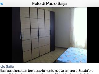 Appartamenti al mare, Spadafora