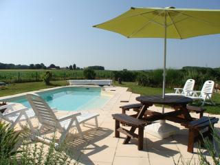 Le Noyer - Loire farmhouse with private pool, Parcay-les-Pins