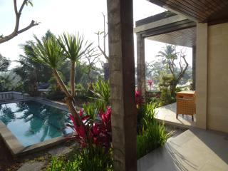 New pool Villa with panoramic location near Ubud