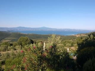 Agriturismo La Bicocca - Apt. L'Olivo - Fantastic view over Lake Trasimeno, Castel Rigone