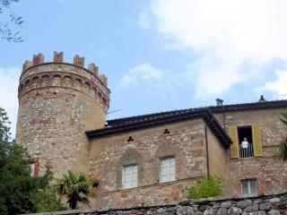 Tuscan Tower - A unique castle apartment, Montepulciano