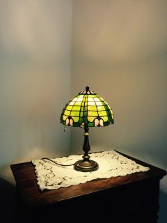 tiffany table lamp collection, the littlest.