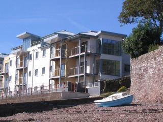 Pembrokeshire Marina Apartment with balcony overlooking Milford Haven Waterway.