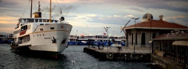 Besiktas Ferry at a 5 minute walking distance