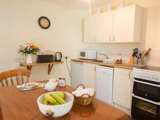 Bright self catering kitchen with everything you need