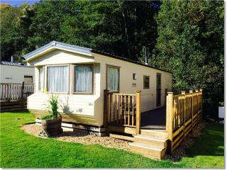 Luxury 4 berth Dove Caravan, Ilfracombe