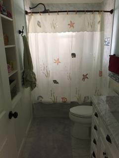 newly remodeled 1st floor bathroom