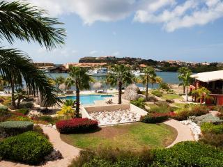 luxury private beachfront apartment at La Maya Beach, Curazao