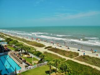 617 Sandcastle Resort: Lovely, 6th Floor Oceanfront One Bedroom Condo, Myrtle Beach