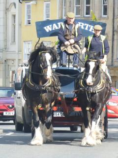 Wadworth shire horses deliver beer to all the local pubs and hotels. A brewery tour is a must!!