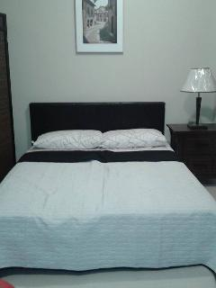 queen size of bed ( new beddings)