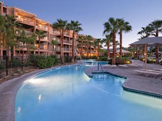 Relax in the lazy river at WorldMark by Wyndham 2B, Indio