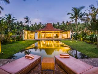 Beach front villa in North West Bali, Melaya