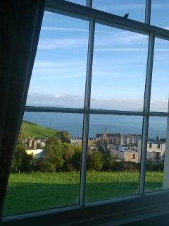 The view if you're lying in bed!