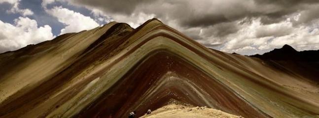 Cerro colorado - Nevado de Ausangate