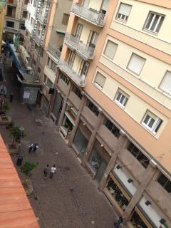 Vista sul Corso/Terrace view on the Corso Vittorio Emanuele