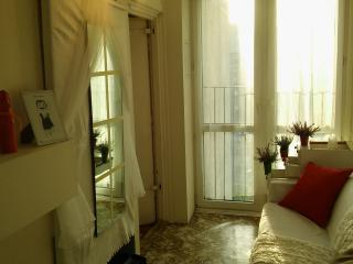 Apartment near metro with nice view to the city, Varsovia