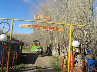 Zona de camping duchas con agua caliente WiFi l, Chile Chico
