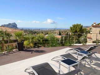 Luxury -Best View bungalow for 6 persons- Calp- Sp, Calpe