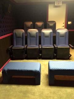 Stadium Seating with butt blasters