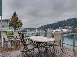 Get away in this bayfront Gig Harbor home w/ private beach & dock!