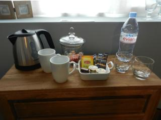 Free Coffee, thee, water