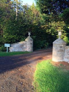 The entrance leading to the Cottage