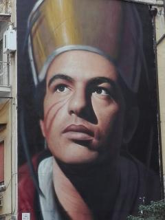Murales San Gennaro via Duomo