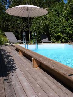 Your own private heated Swimming pool
