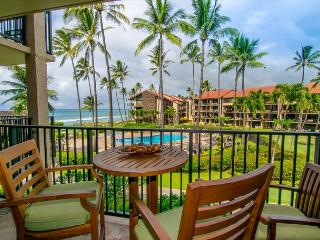 Highly upgraded Ocean View Studio with Cold Air Conditioning Sleeps 4, Lahaina