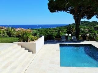 Villa Nartelle, Pet-Friendly Rental with a View of the French Riviera