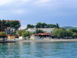 PUNTA 2+2,50M BEACH,CENTER30m2, Vodice