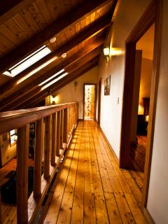 Lofted Hallway