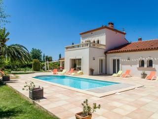 Mas Picton, Villa 420m2 6 chambres 10 min a pieds plage