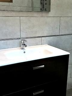 Brand new sink and tiles