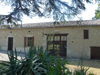 Le Matou 250 year old Farmhouse and View of Le Gran Pin 1 bedroom Gite