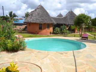 Villa Mbizo uniquely build  Swahili / Masai style