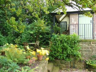 Verandha and small patio area