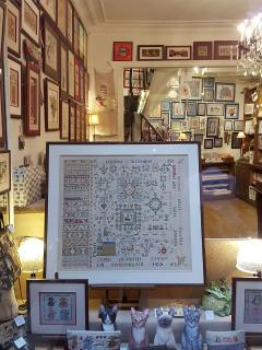 Antique shops in the passage