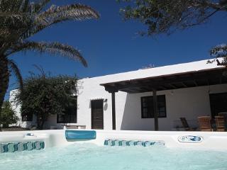 Bonita casa tradicional de Lanzarote.