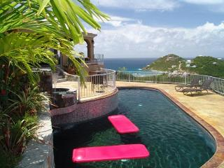 "Bongo Bongo-2 bdm-40""pool-75"" deck-great sunsets-panoramic views!, Virgin Islands National Park"