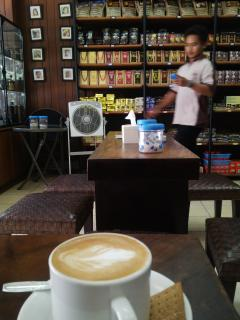 Best coffee in town, Butterfly Coffee at Jalan Gajah Mada Street 2km from the house open 10am-4pm