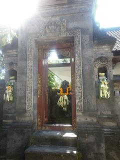 Our Balinese gate