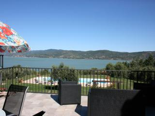 Monte del Lago Trasimeno Lake view