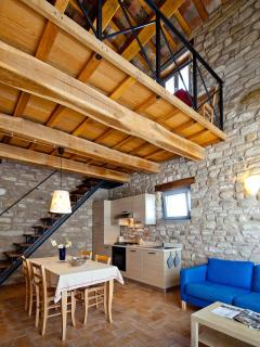 Casale Eline appartments in the marche, italy