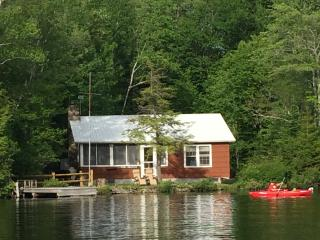 White Mountains New Hampshire Lakefront Cabin,, Piermont